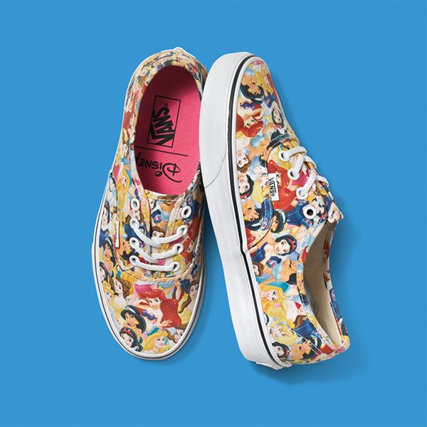 chaussure vans princesse disney