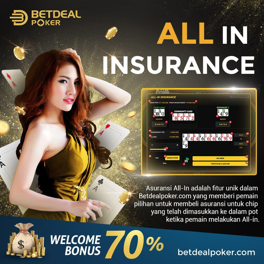 All In Insurance Di 2020 Poker Asuransi