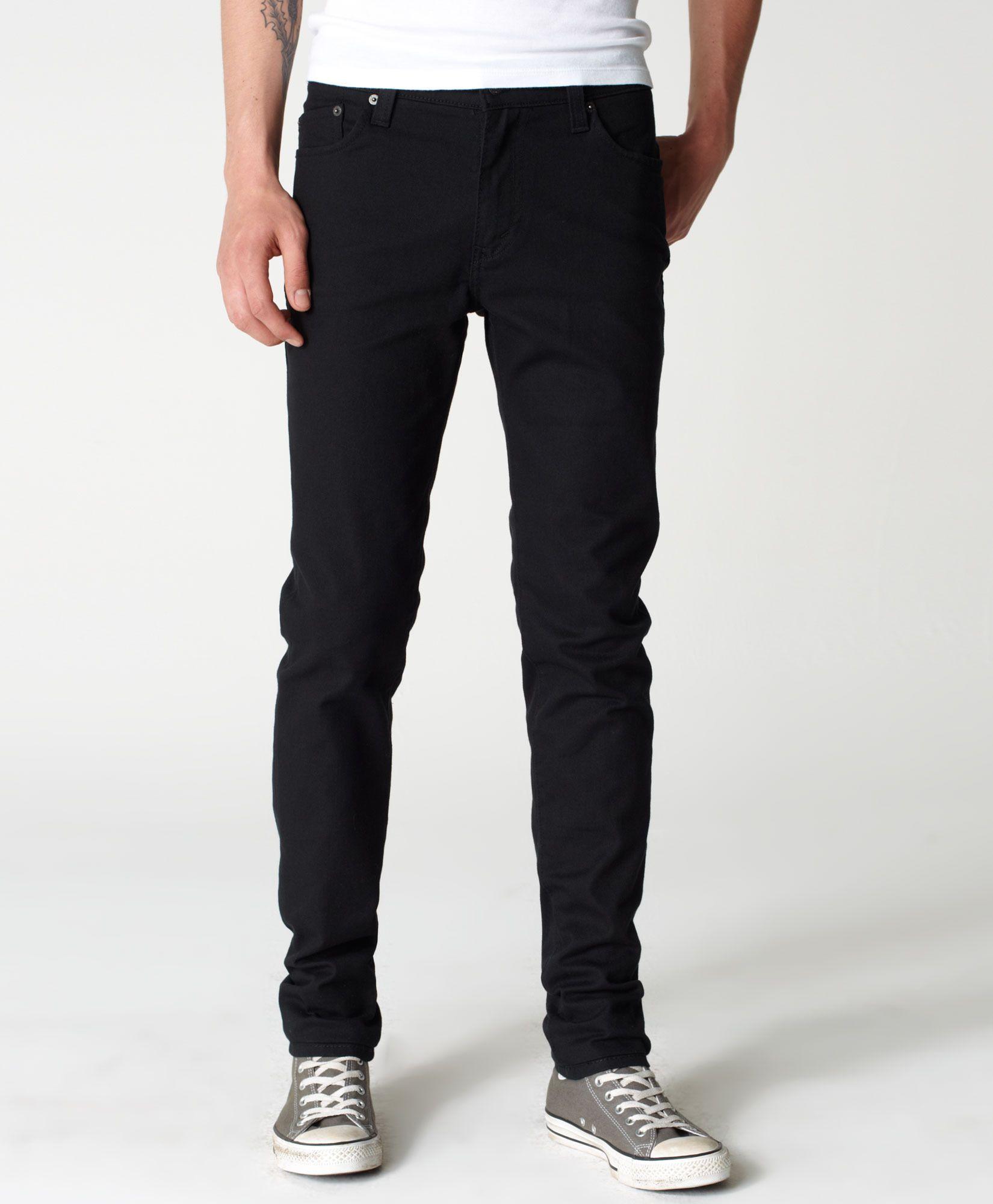 510 skinny fit mens jeans in 2020 black jeans men