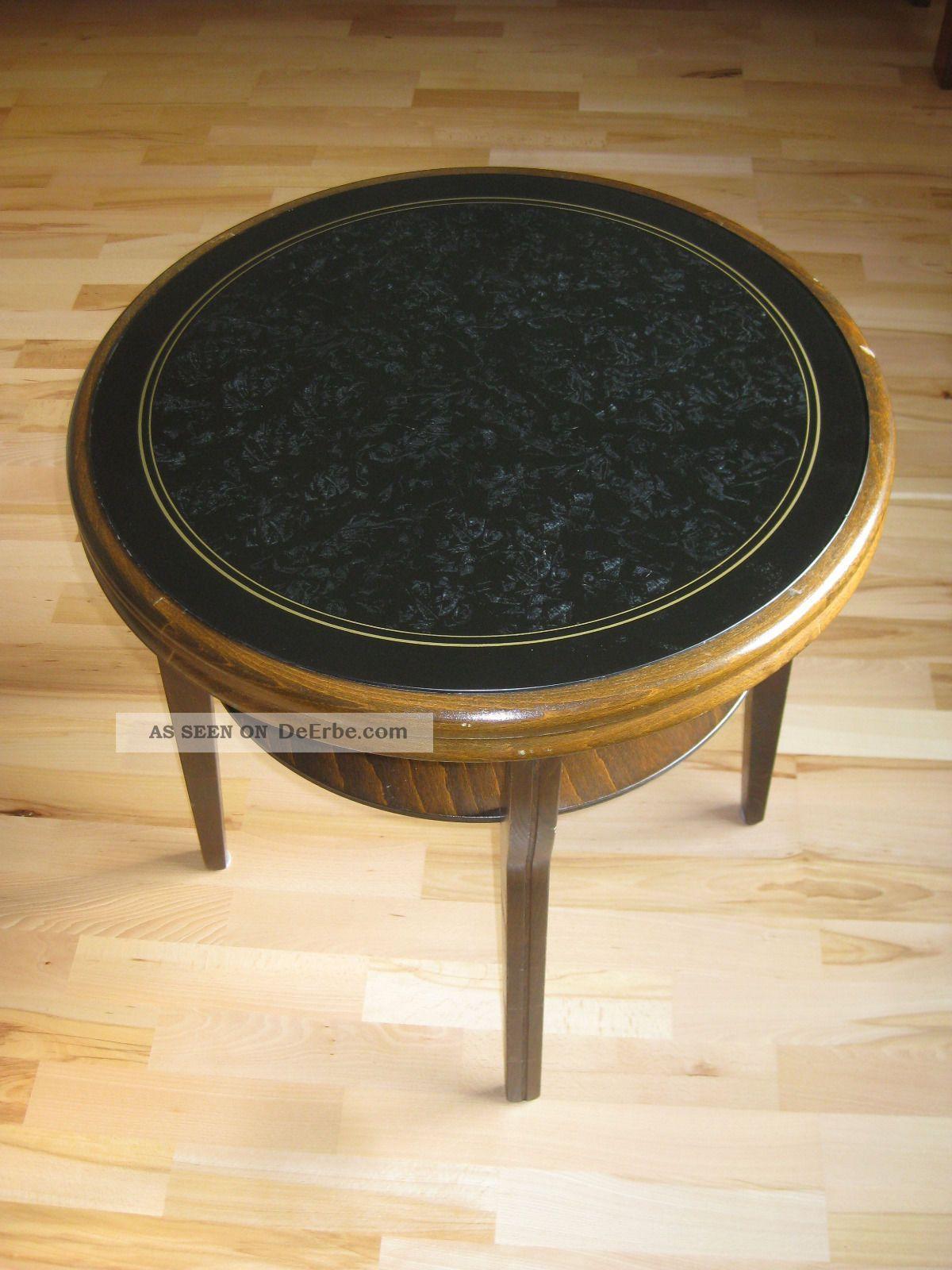 Runder Tisch Rauchtisch Beistelltisch Ilse Möbel 50er Jahre 1950