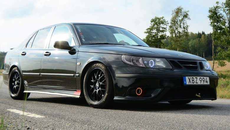 Saab 9 5 Line R Project Car Is Ready For The Track Saab Car Premium Cars