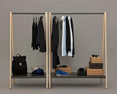 Kleiderberge Vermeiden Garderobe Stander Kleiderregal