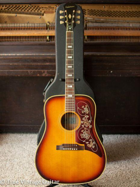 Epiphone Ft 110 Frontier Sunburst 1964 Reverb Epiphone Guitar Epiphone Acoustic Guitar