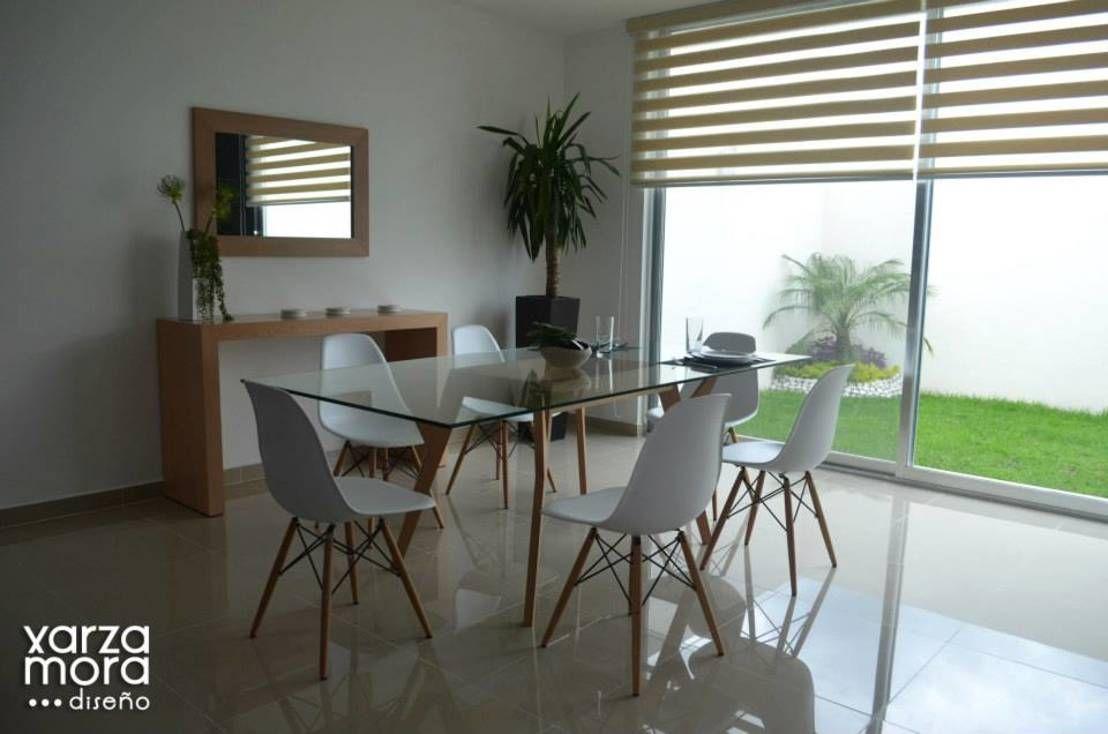 Casa muestra : Comedores minimalistas de Xarzamora Diseño | Casas ...