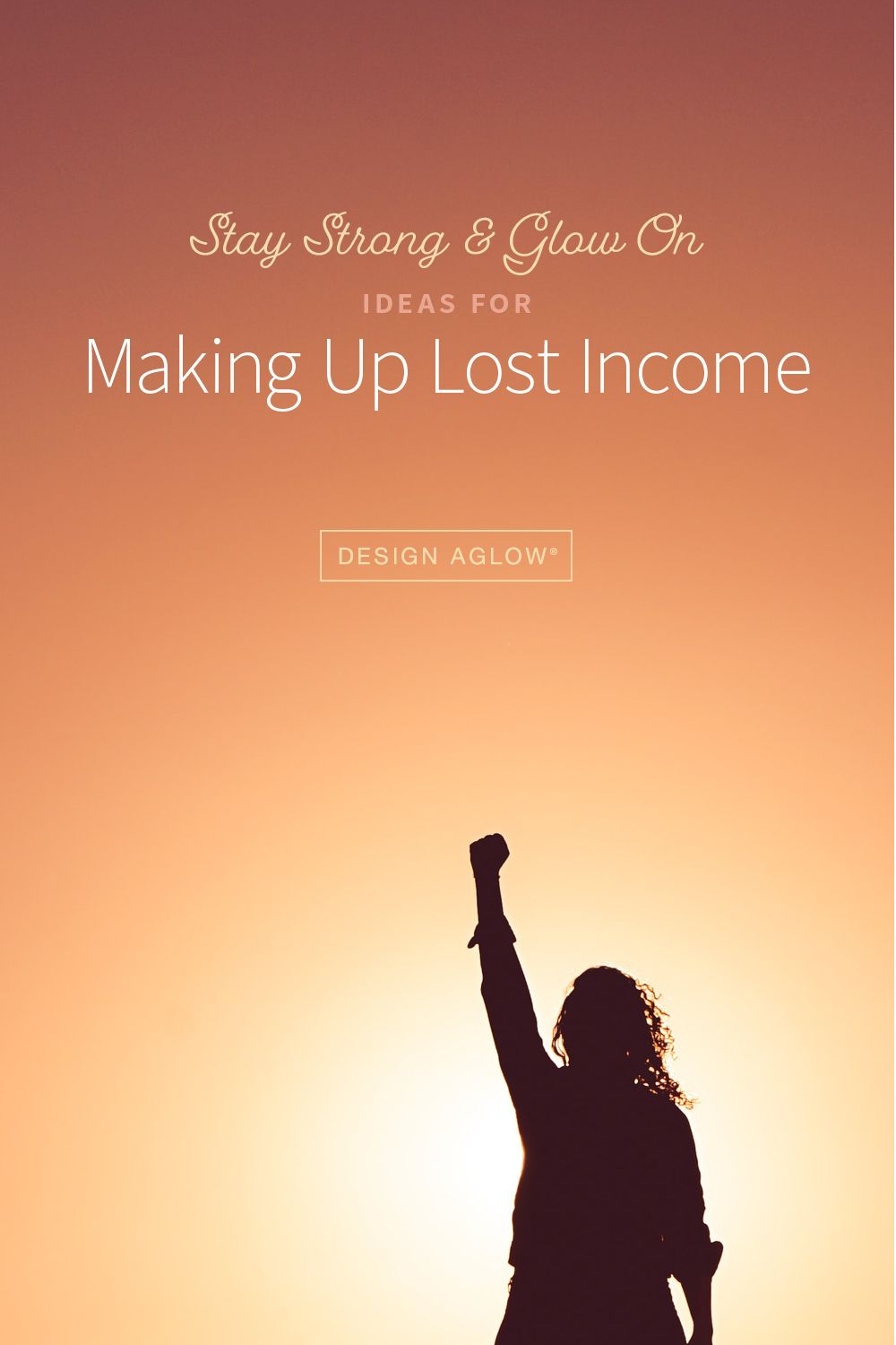 Ideas for Making Up Lost Income