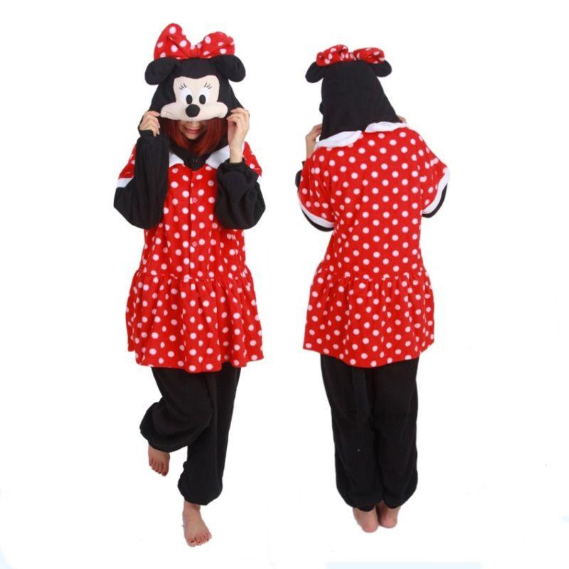 Mini Mouse Women Halloween Costumes For Adults Cosplay Pijamas - 4 man halloween costume ideas