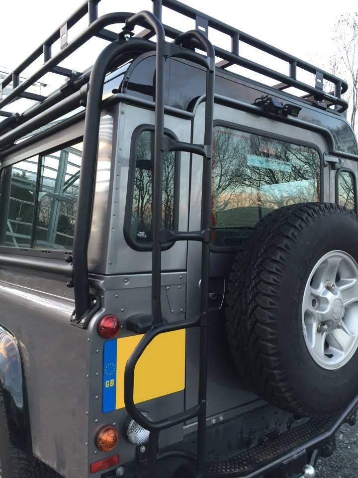 Image Result For Roofrack Corner Ladder Land Rover Defender