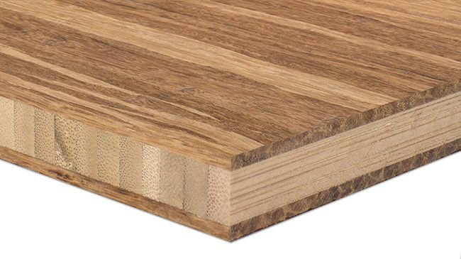 Sample Bamboo Plywood 3ply 3 4 In Fossilized Reg Marbled Bamboo Plywood Island Countertops Plywood Countertop
