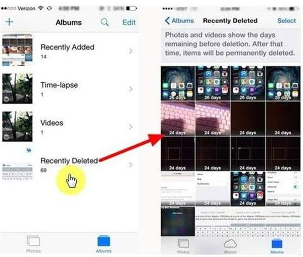 How to Recover Deleted Instagram Photos Iphone photos