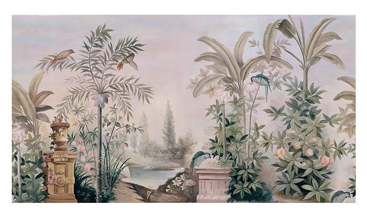 Wall Coverings Wallpaper Wall Murals Removable Vintage Wall Mural Wallpaper Wall Painting Ananbo Wallpaper