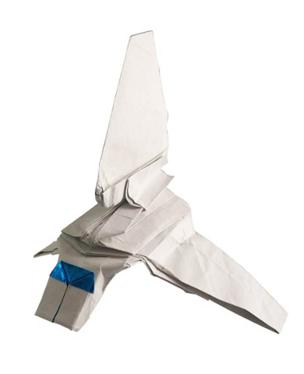 Star Wars Spaceship Origami 1