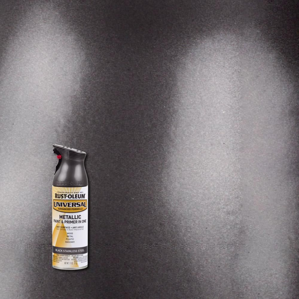 Design Stainless Steel Paint rust oleum universal 11 oz all surface black stainless steel spray paint and primer