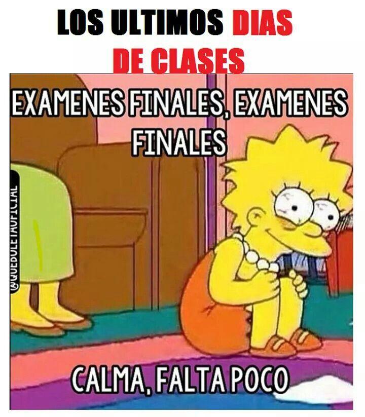 Finales de semestre
