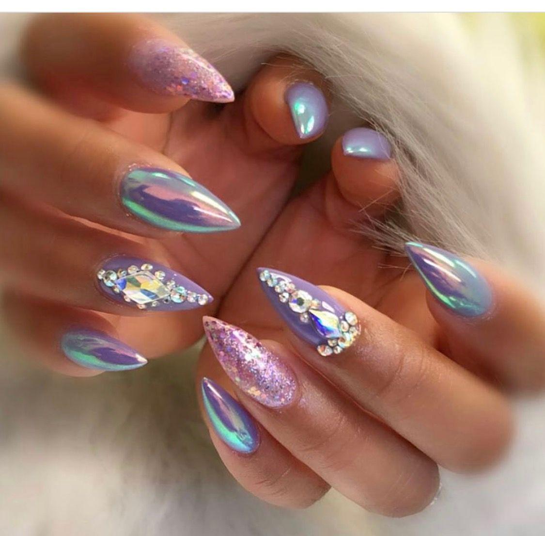 Don\'t we all love purple? | Nail Designs | Pinterest | Nail inspo ...