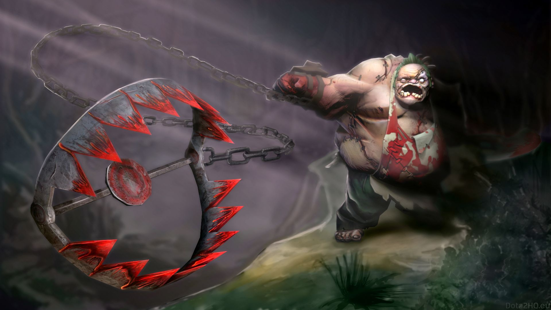 Download Wallpaper 1920x1080 Pudge, Dota 2, Art Full HD 1080p HD Background  | Game pictures, Dota 2, Dota 2 wallpaper