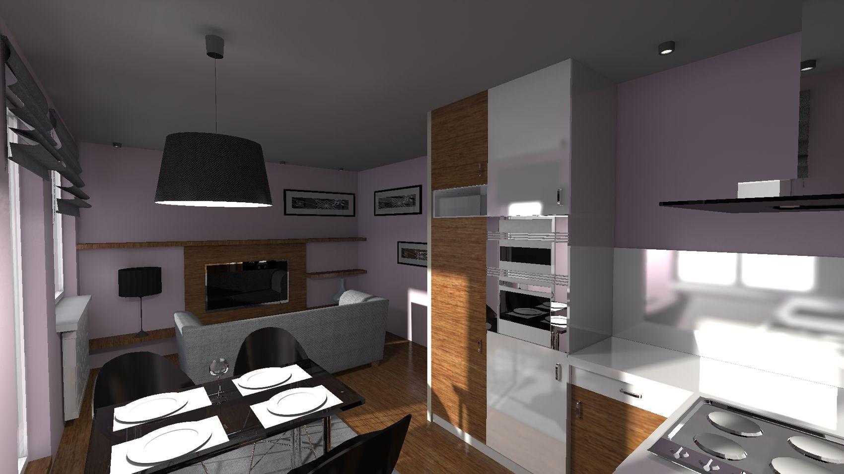 Salon Z Aneksem 20 M Kw Home Decor Home Furniture