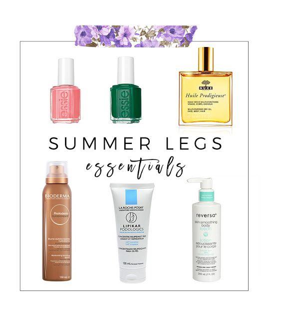 Beauty Summer Legs Essentials Summer Legs Skin Bumps Beauty