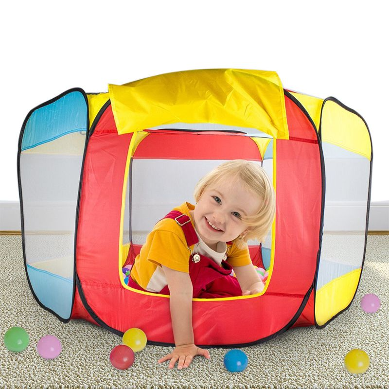Baby Children Tent Play House Indoor and Outdoor Easy Folding Ball Pit Hideaway Tent Play Hut  sc 1 st  Pinterest & Baby Children Tent Play House Indoor and Outdoor Easy Folding Ball ...
