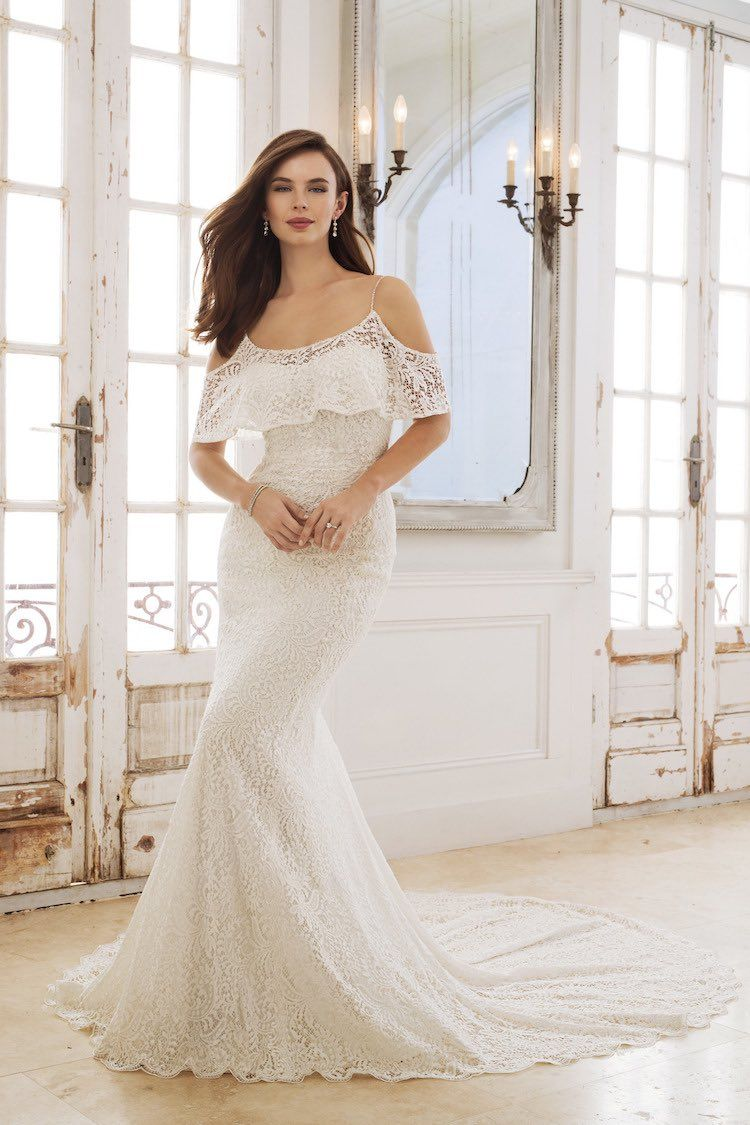 5b594e4f78 We ve fallen head over heels for the new spring 2018 collection of Sophia  Tolli wedding dresses! These chic