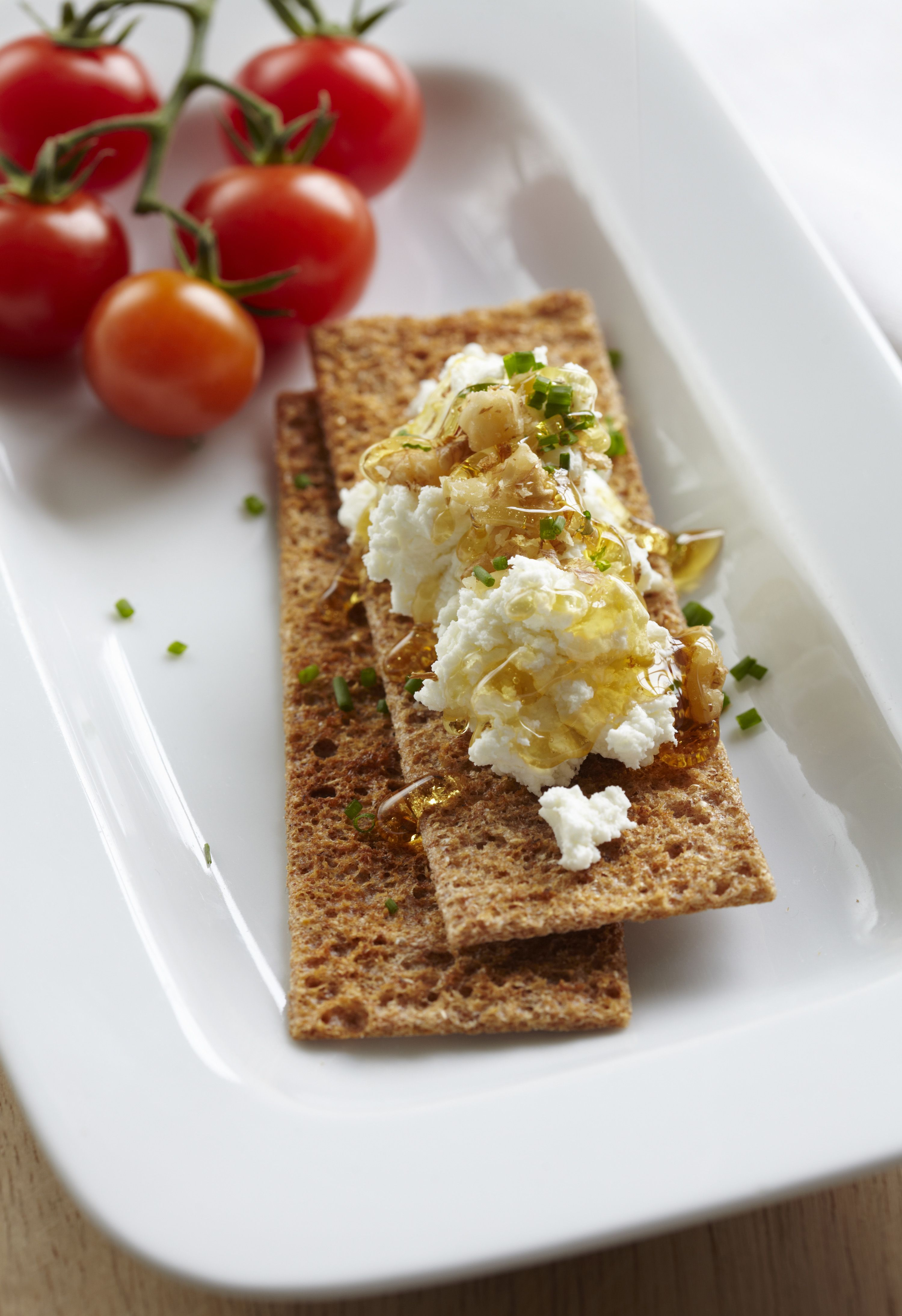 how to make goat cheese spreadable