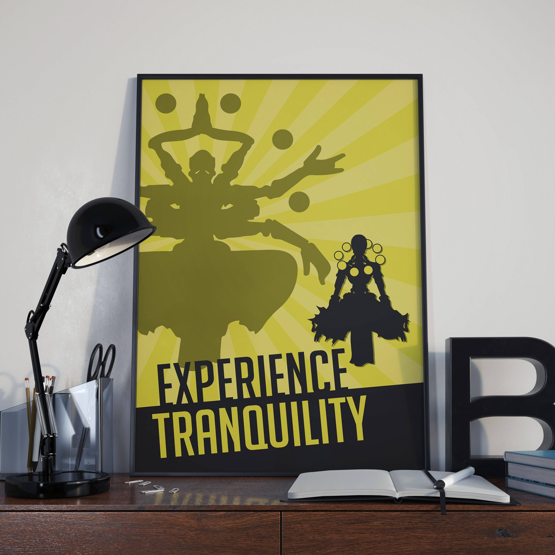 Overwatch: Zenyatta Poster // Experience Tranquility - Pass into ...