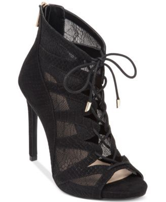 8ae3691deed Jessica Simpson Ranissa Lace-Up Ghillie Dress Booties | Shoes ...