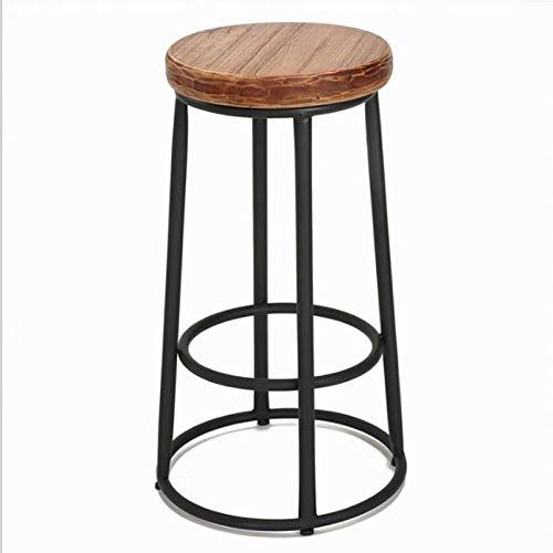 Magnificent Bar Stool American Wrought Iron Wood Hotel Bar Kitchen Forskolin Free Trial Chair Design Images Forskolin Free Trialorg