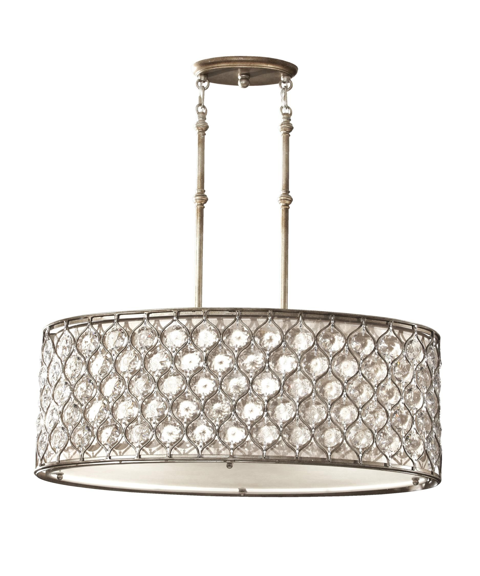 Feiss Lucia 32 Inch Large Pendant By Generation Lighting Pendant