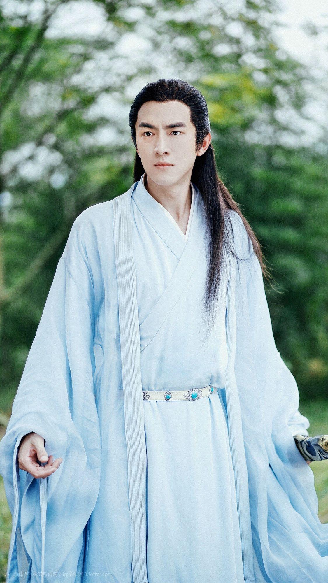 Tokoh Yuwen Yue dalam serial drama Princess Agents - Picture taken from Pinterest.com