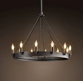 DIY, Knock Off, LOOK A LIKE Restoration Hardware Chandelier Via THE  LifeStyled COMPANY |