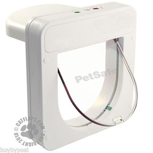 Details About Petsafe Petporte Pet Porte Microchip Cat Flap White Or Brown Micro Chip Tt Pets Large Dog Pen Pet Safe