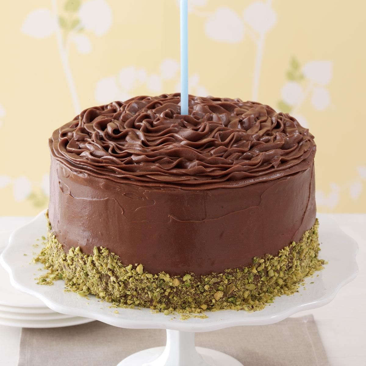 Banana Cake with Chocolate Frosting | Recipe | Chocolate frosting ...