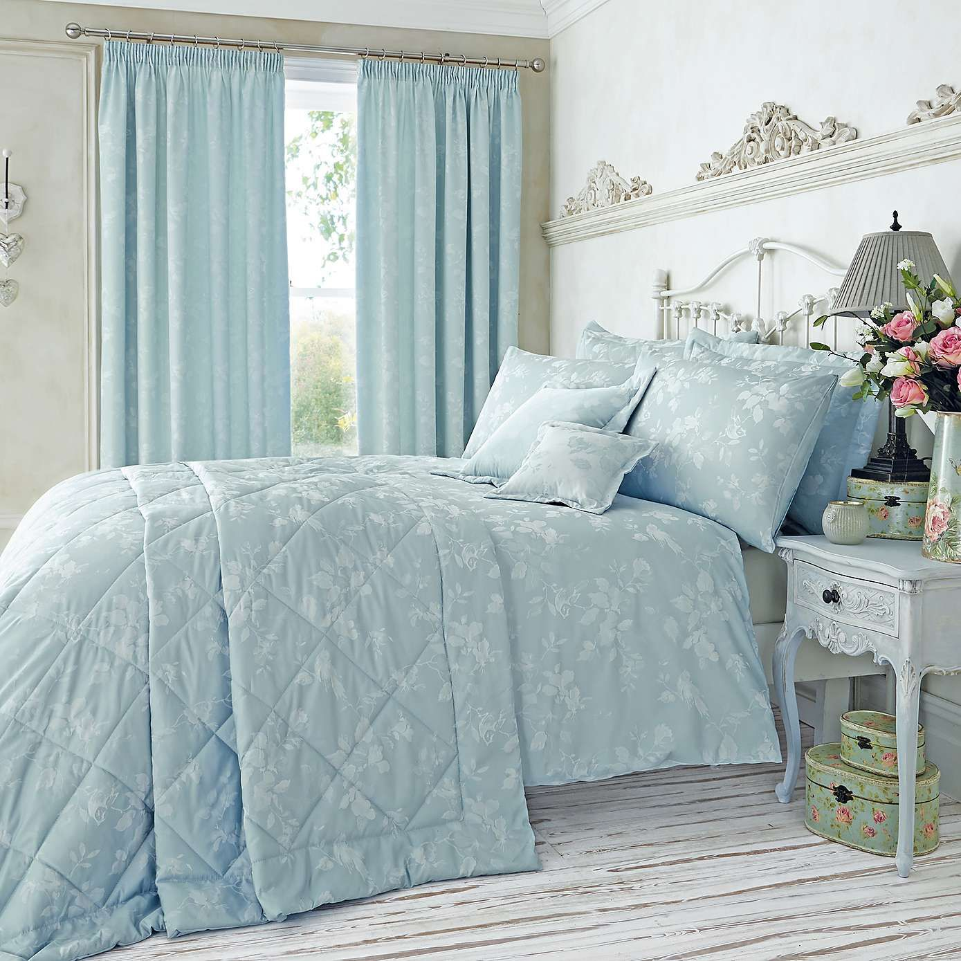 Duck Egg Blue Duvet And Curtain Sets Curtain Menzilperde Net