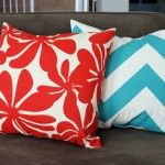easy two seam pillow covers