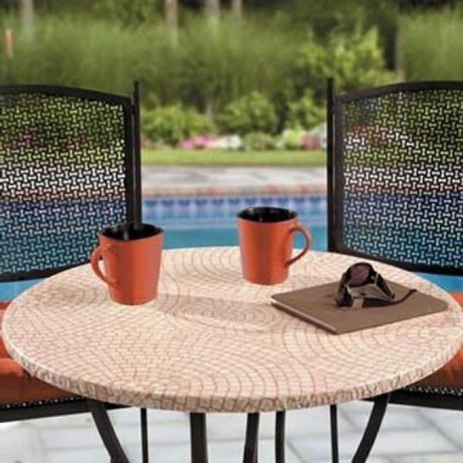 Pinterest & terracotta mosaic tile Elastic fitted vinyl outdoor 48 ...