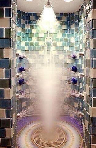 This amazing shower