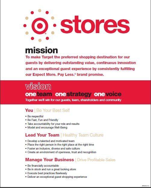 target mission statement