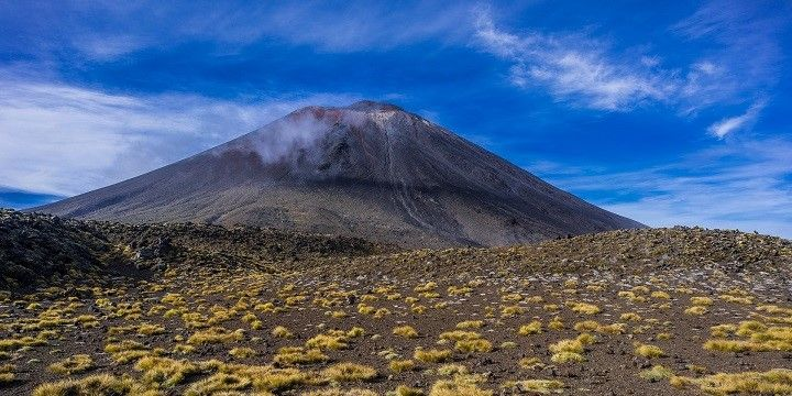 Mount Doom, Tongariro National Park, North Island, New Zealand, Oceania