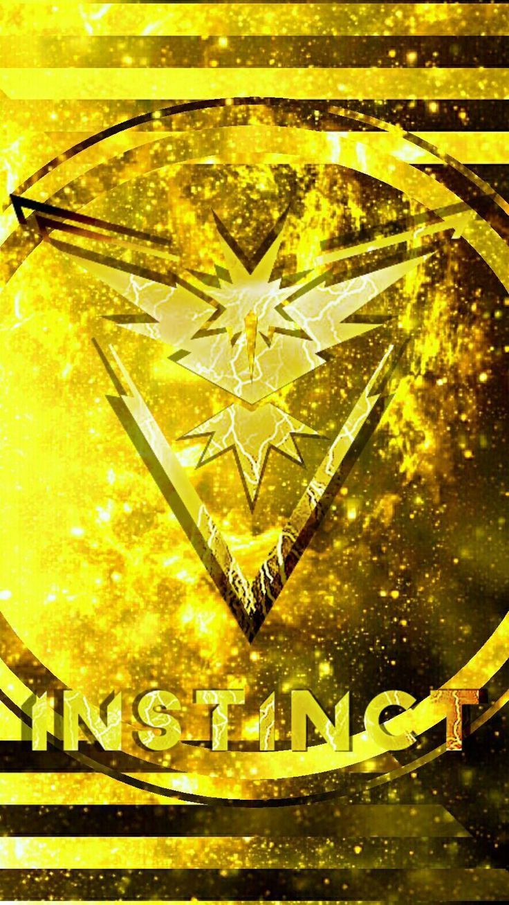 Pokemon Go Team Instinct My People Did You Ever Pick A