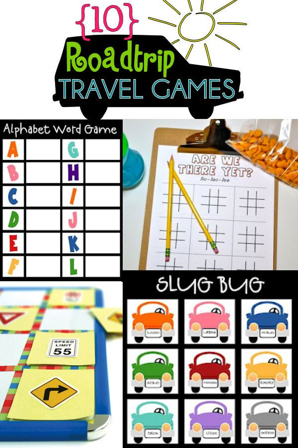 10 Roadtrip Travel Games on { lilluna.com }