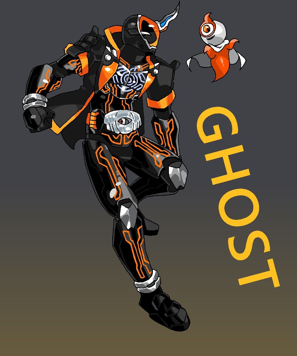 Kamen Rider Ghost Kamen rider zi o, Rider