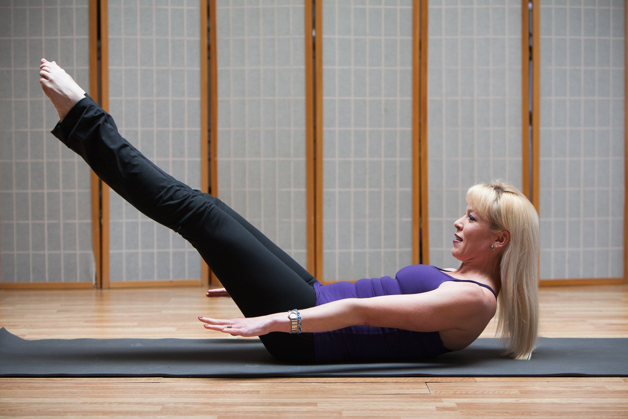 Back To Basics Pilates 100s Upper Abs Abs Workout Abs Workout For Women