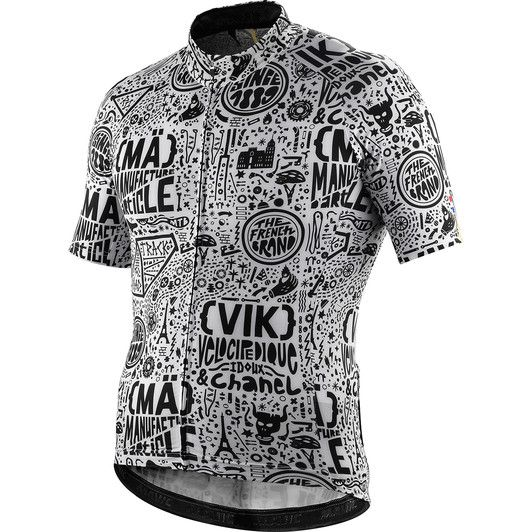 Shop the Mavic Cosmic II Limited Edition Paris-Nice Short Sleeve Jersey  online at Sigma Sport. Receive FREE UK delivery and returns on all orders  over £30! e249fe7c3