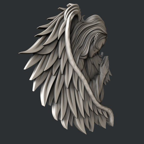 3d STL models for CNC router Angel   Products in 2019   Cnc