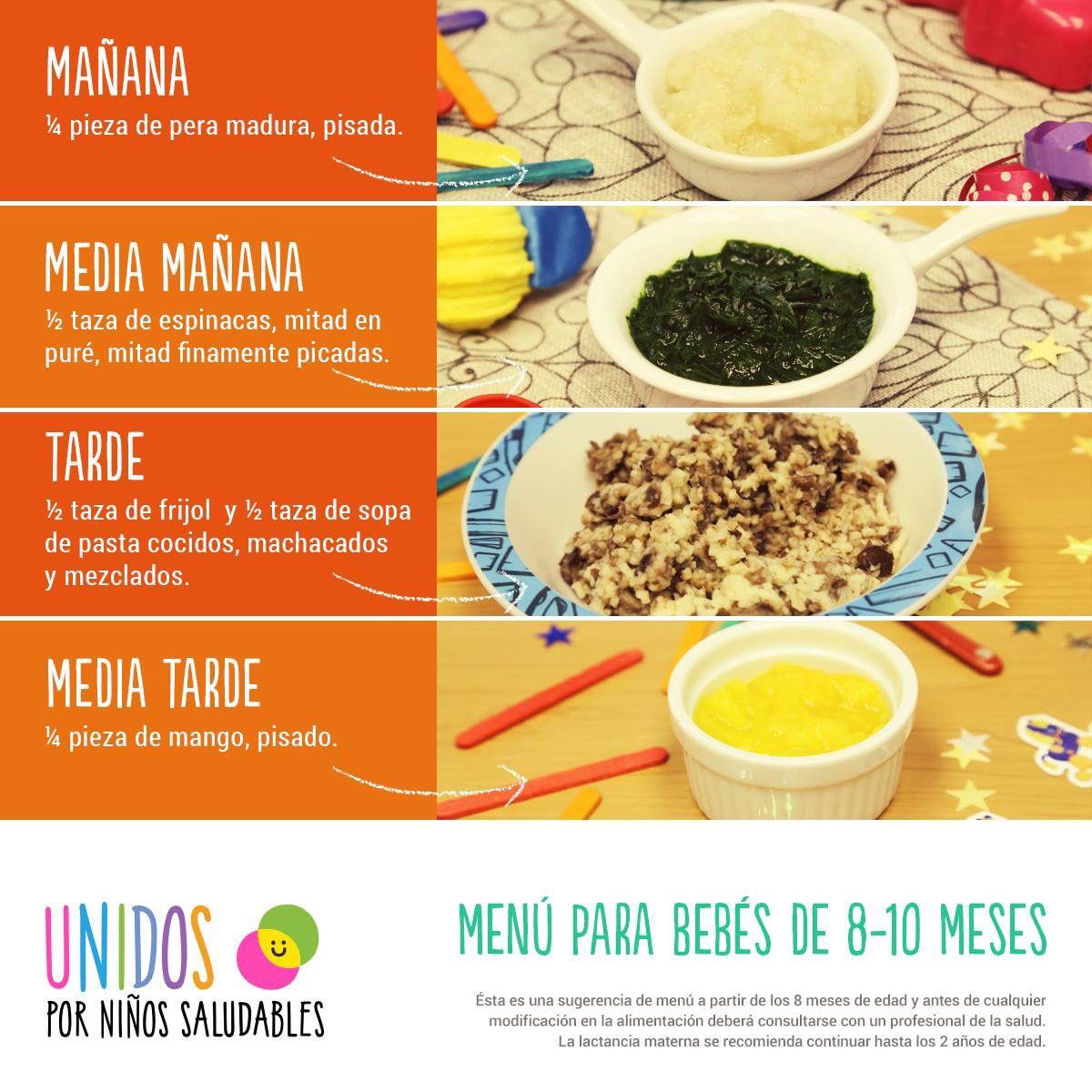 Plan Refrigerio Saludable Recetas De Comida Para Bebes