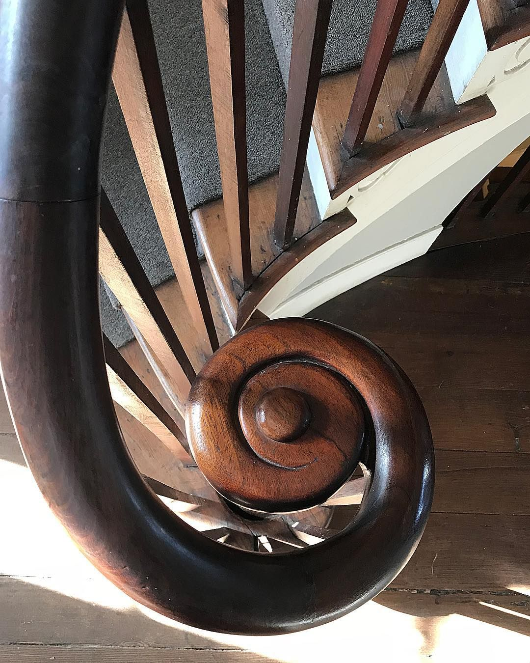 "Best Scott Reed On Instagram ""Perfect Detail The Mahogany Handrail Of The Exquisite Stair At Ware's 400 x 300"