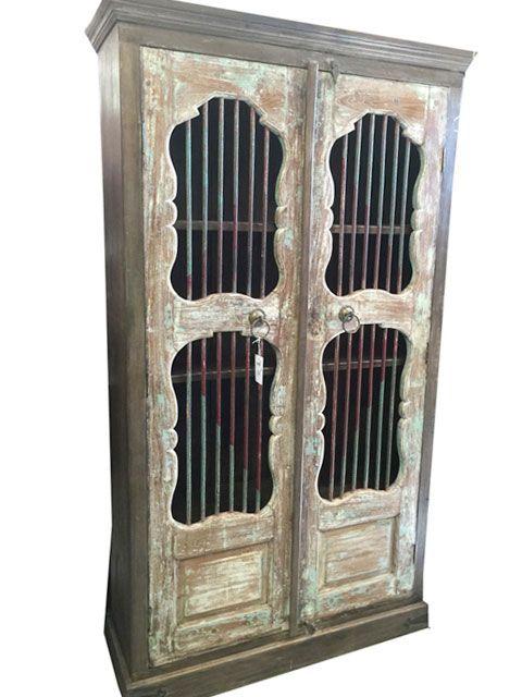 Huge Door British Colonial Armoire Cabinet Estero Florida | Home ...