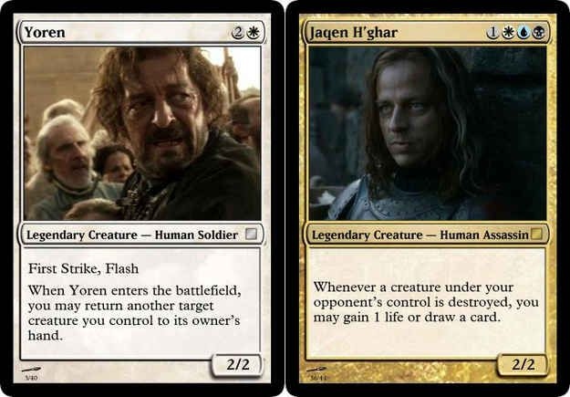 Why Isn T Magic The Gathering Game Of Thrones Edition A Real