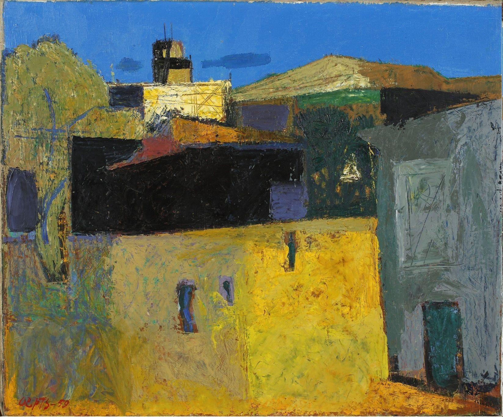Het gele plein oepts wim kunstmakelaardij metzemaekers kunstenaars pinterest - Quilts gele ...