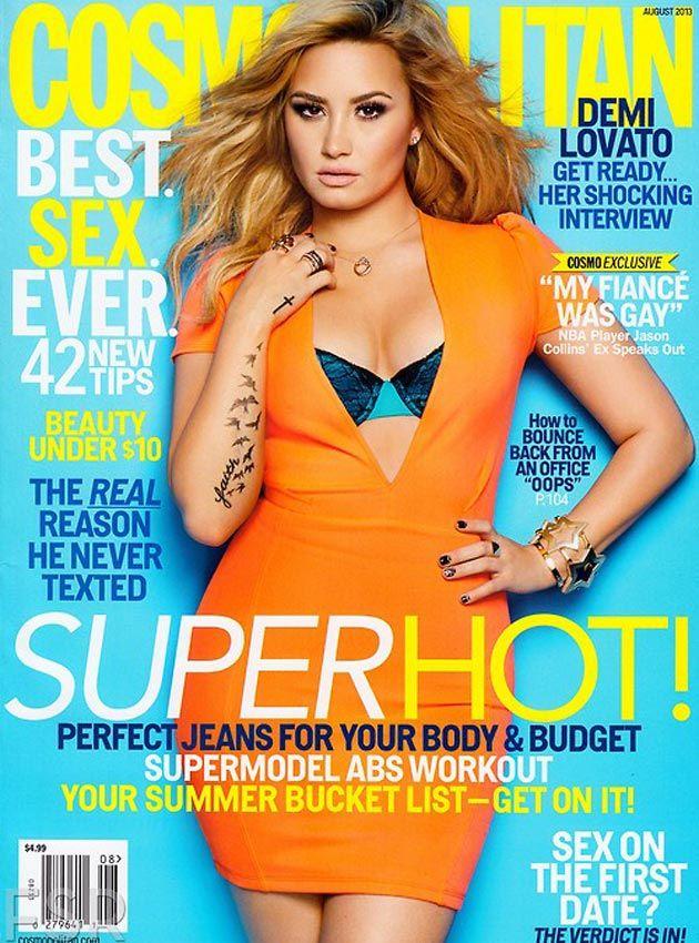 Demi Lovato Covers Cosmo
